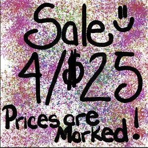 Other - Huge Sale 4/$25